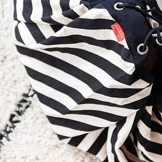 Play and Go Spieldecke - Sack Stripes Black - Play and Go