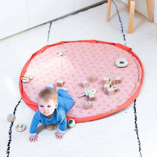 Play and Go Speelmat - opbergzak Animal Faces Soft Play and Go