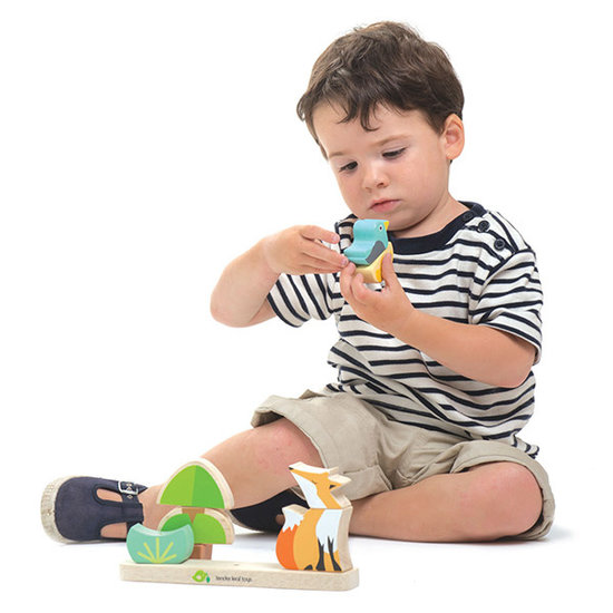 Tender Leaf Toys Magnetic stacking game Foxy - Tender Leaf Toys