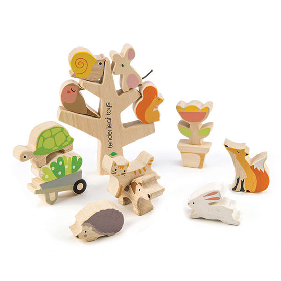 Tender Leaf Toys Stapelspel Garden Friends - Tender Leaf Toys