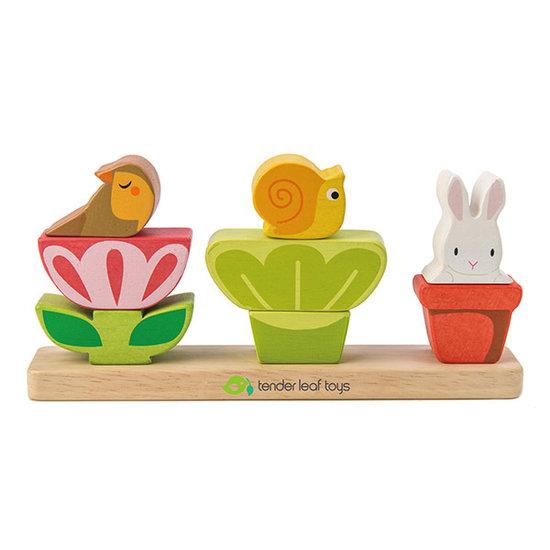 Tender Leaf Toys Stapelspiel Garden Stacker - Tender Leaf Toys