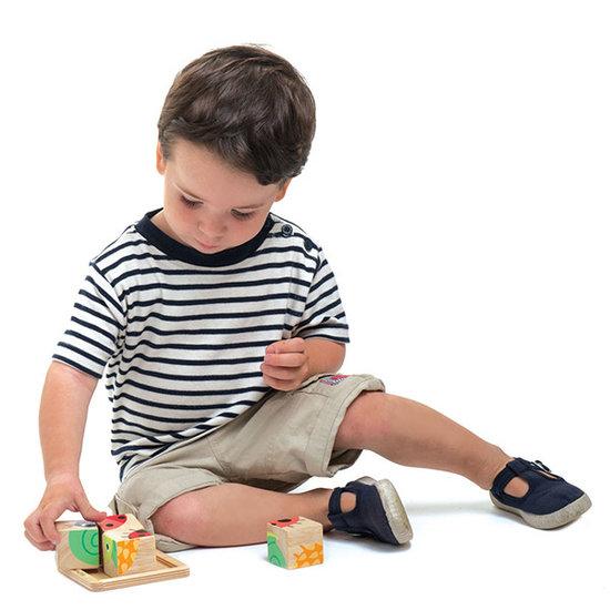 Tender Leaf Toys Blokpuzzel baby - Tender Leaf Toys