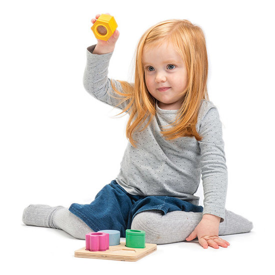 Tender Leaf Toys Holzpuzzle optisch - Tender Leaf Toys