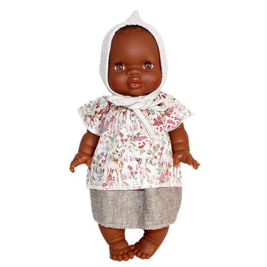 Paola Reina Babypop meisje Afrikaans - Paola Reina