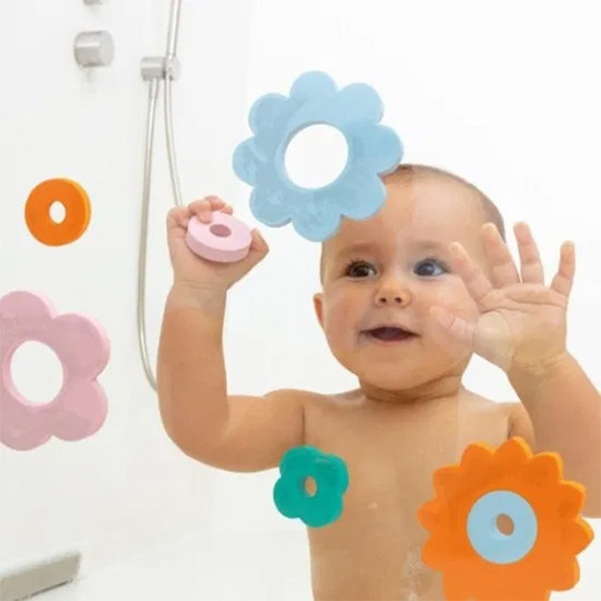 Quut Bath toy bath puzzle Flower Power - Quutopia