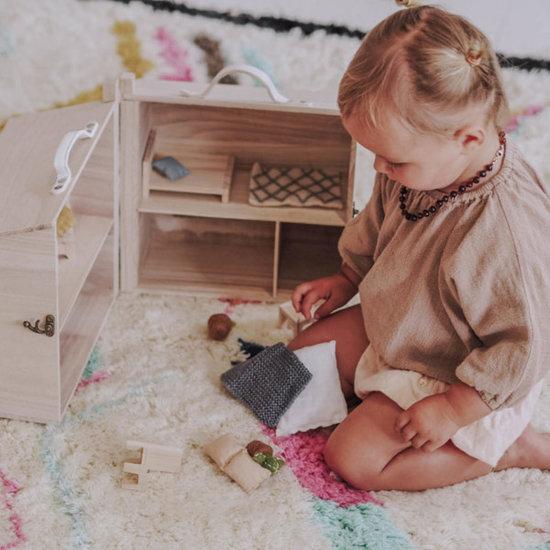 Olli Ella Dollhouse bedroom double bed - Olli Ella