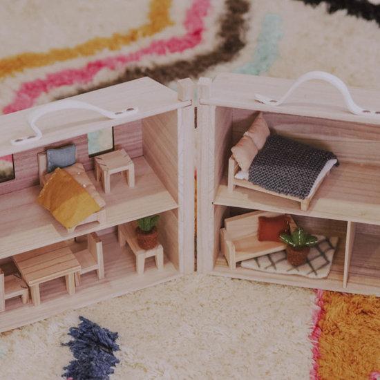 Olli Ella Maison de poupée lit double - Olli Ella