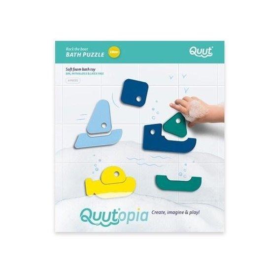 Quut Jouet de bain puzzle de bain bateau - Quutopia