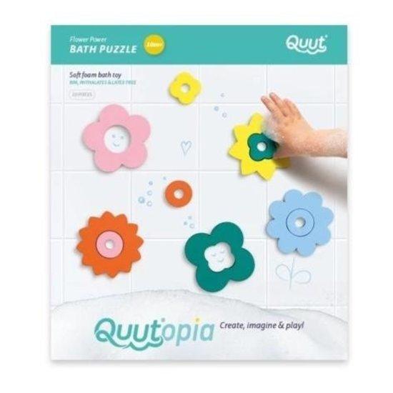 Quut Badespielzeug Badepuzzle Flower Power - Quutopia