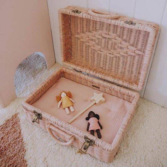 Olli Ella Dolls pram mattress rose - Olli Ella