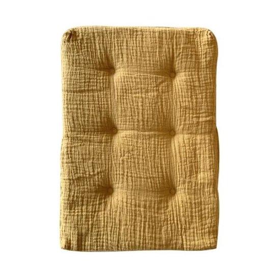 Olli Ella Dolls pram mattress mustard - Olli Ella