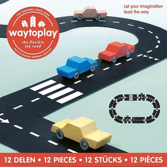 Waytoplay Waytoplay road - ringroad 12 pcs