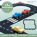 Waytoplay Straße - Autostraße 24 Teilig