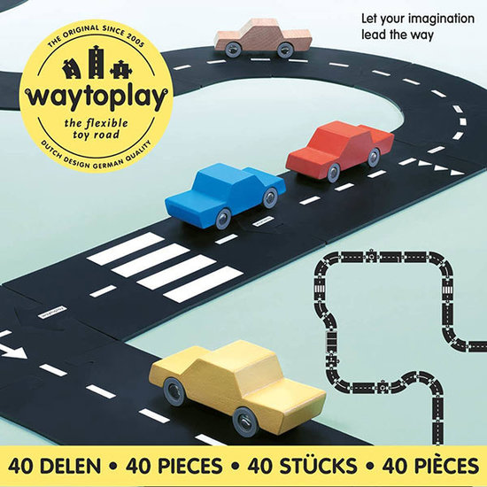 Waytoplay Waytoplay Straße - King of the road 40 Teilig