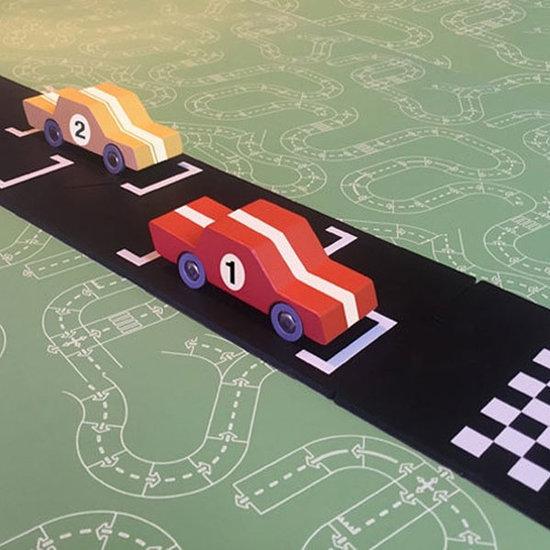 Waytoplay Waytoplay autobaan uitbreidingsset Start & Finish