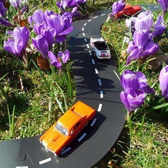 Waytoplay Waytoplay autobaan uitbreidingsset bochten 4st