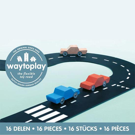 Waytoplay Waytoplay Straße - Autobahn 16 Teilig