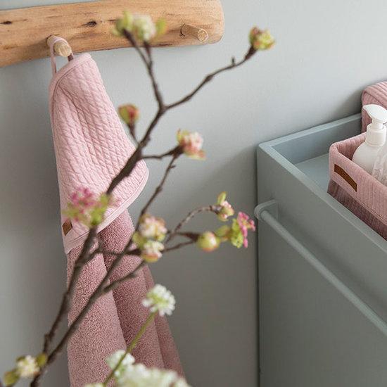 Little Dutch Little Dutch badcape - Pure pink