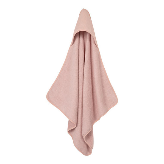 Little Dutch Hooded Towel - Pure Pink