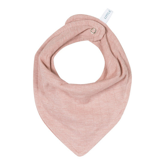 Little Dutch Little Dutch bandana slab - Pure pink