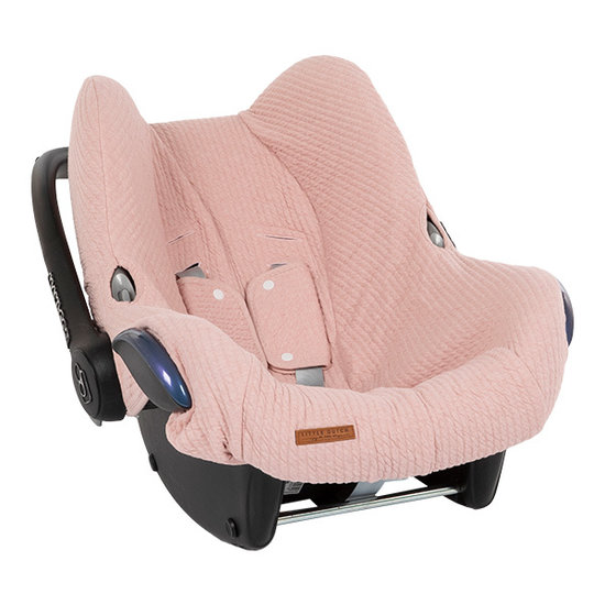 Little Dutch Car Seat Cover 0+ - Pure Pink