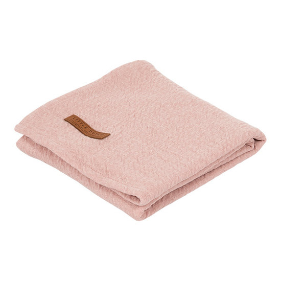 Little Dutch Swaddle Tuch 120 X 120 - Pure Pink