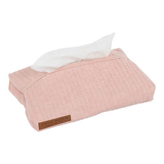 Little Dutch Baby Wipes Cover - Pure Pink