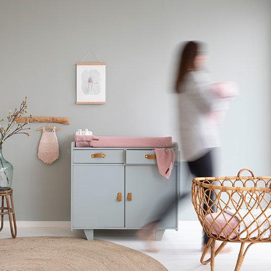 Little Dutch Little Dutch verschoningsmatje comfort - Pure pink