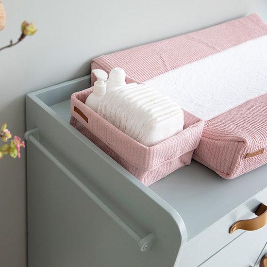 Little Dutch Wickeltischkörbchen, Groß - Pure Pink