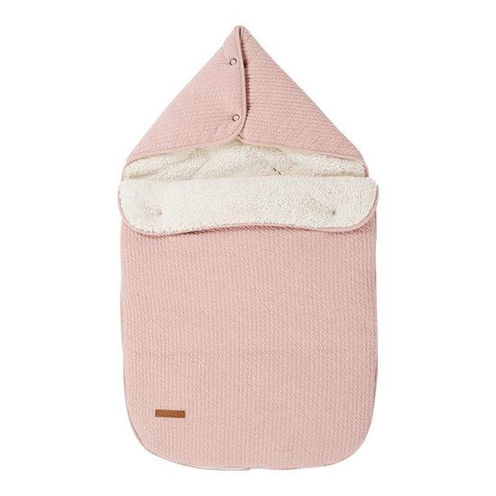 Little Dutch Car Seat Footmuff 0+ - Pure Pink