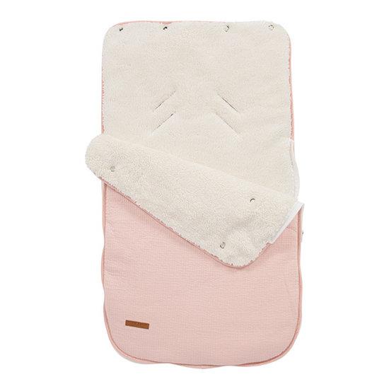 Little Dutch Voetenzak autostoeltje 0+ - Pure pink