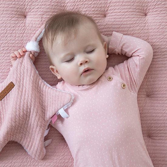 Little Dutch Playpen Mat 80 X 100 - Pure Pink