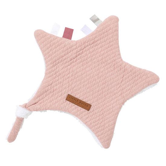 Little Dutch Kuscheltuch Stern - Pure Pink