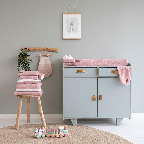 Little Dutch Little Dutch pacifier Cloth - Pure Pink