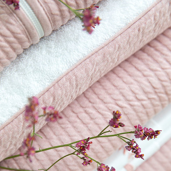 Little Dutch Ledikantdeken - Pure pink