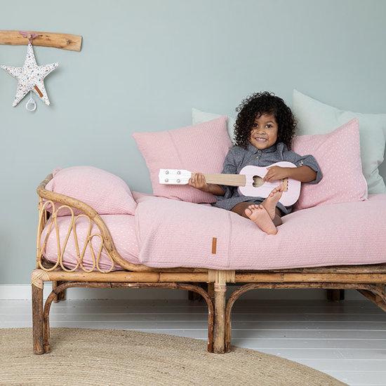Little Dutch Cot Sheet - Pure pink