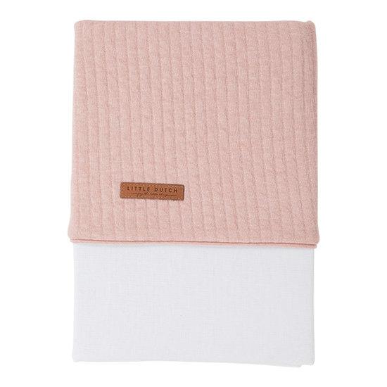 Little Dutch Drap de lit - Pure pink