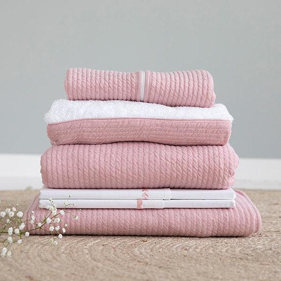 Little Dutch Cot Bumper - Pure Pink