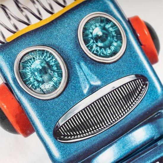 Snurk beddengoed Dekbedovertrek robot - Snurk