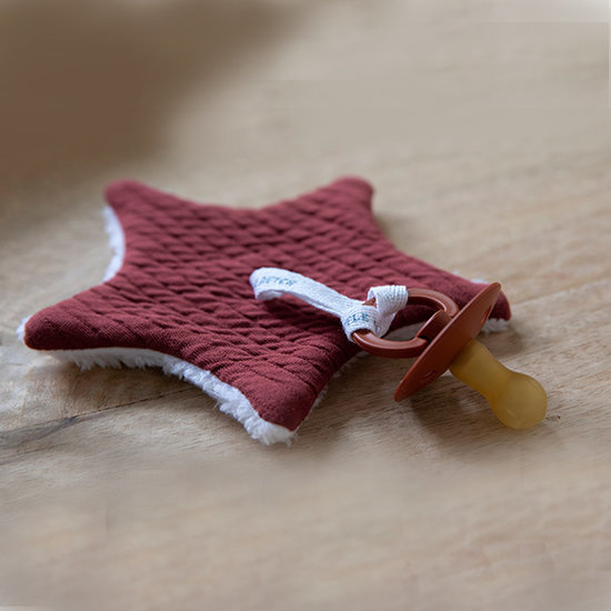 Little Dutch Schnullertuch - Indian Red