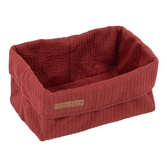 Little Dutch Baby Storage Basket, Large - Indian Red