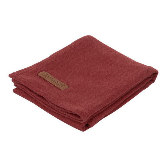 Little Dutch Swaddle 120 X 120 - Indian Red
