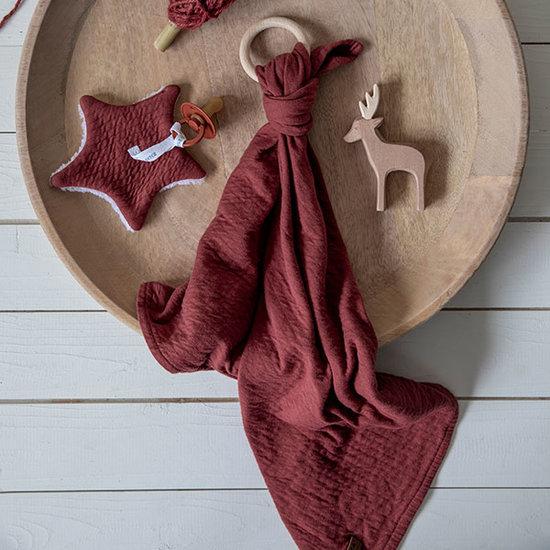 Little Dutch Little Dutch bandana slab - Indian Red
