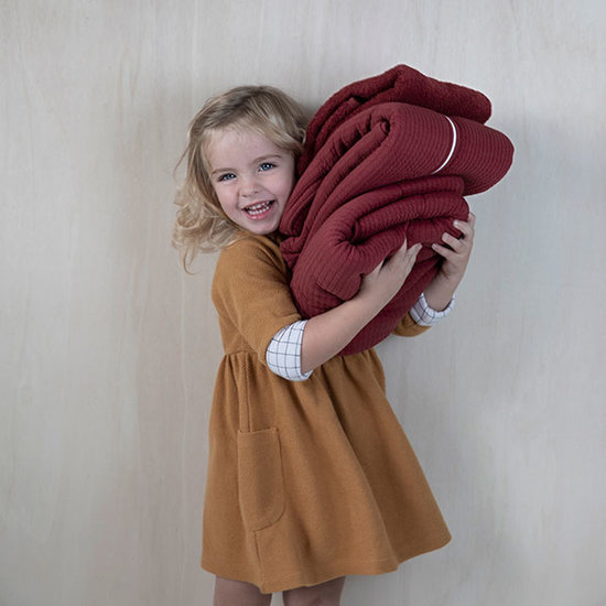 Little Dutch Slaapzak zomer - Indian Red