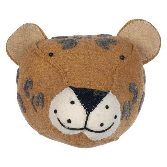 Kidsdepot Dierenkop Zoo leopard - Kidsdepot