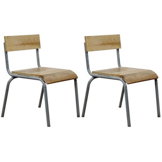 Kidsdepot Chair Original grey set of 2 - Kidsdepot