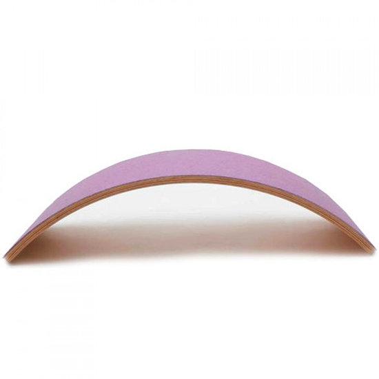 Wobbel Balance Board Wobbel Pro mit Filz rosa