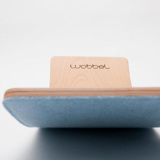 Wobbel Wobbel Balance Board Starter met vilt Lucht blauw
