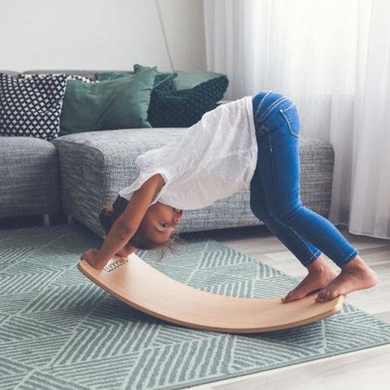 Wobbel Wobbel Balance Board Starter met vilt baby muis