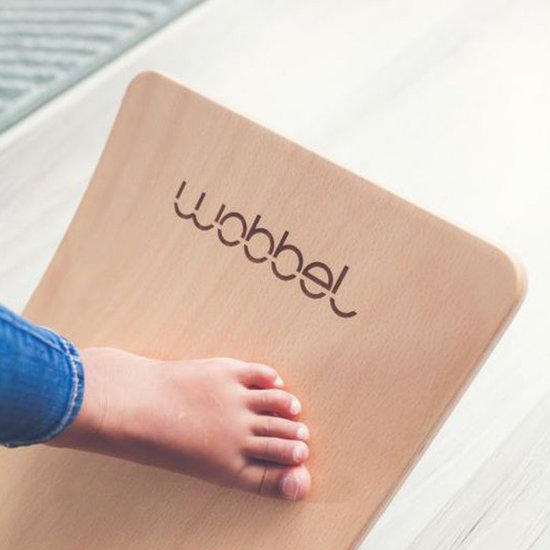 Wobbel Wobbel Balance Board Starter met vilt Bos groen